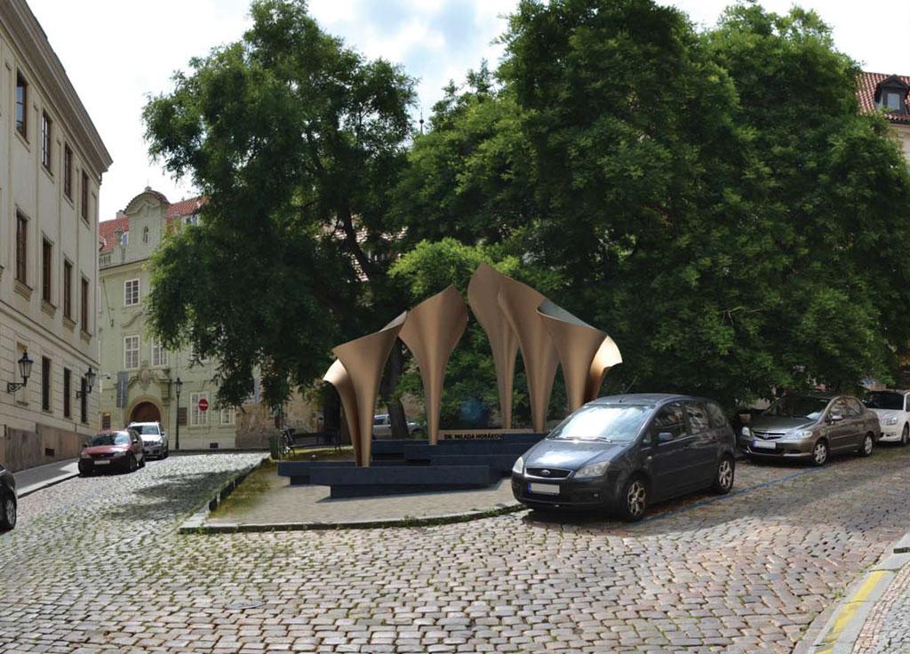 Monument of Dr. Milada Horáková
