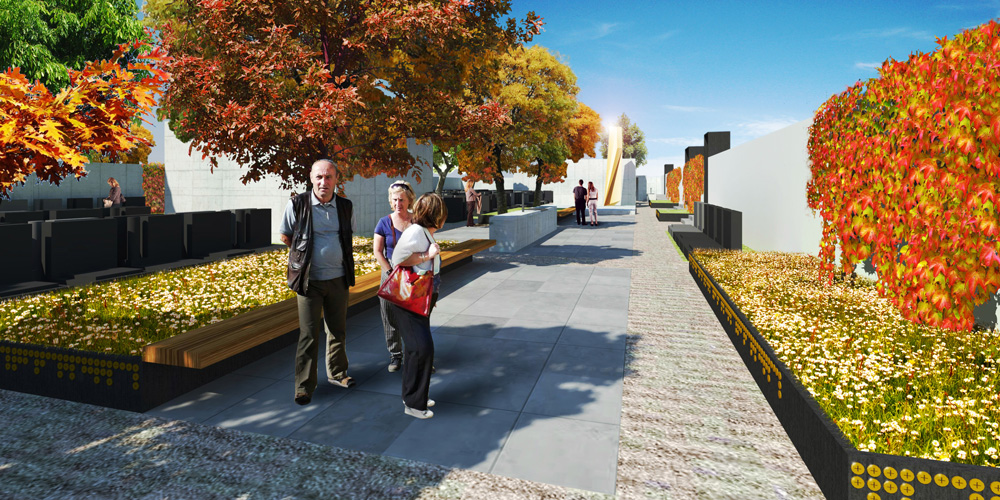 Dostavba hřbitova v Hostivaři